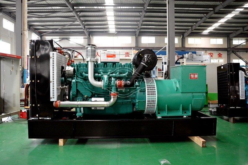 柴油发电机组安装图