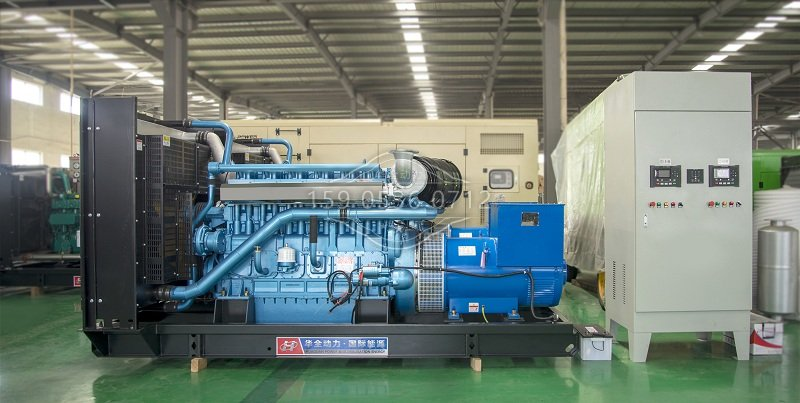 工程用柴油发电机组图